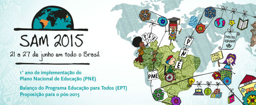 SAM 2015 - 21 a 27 de junho em todo o Brasil [descrição não fornecida pelo site orígem]